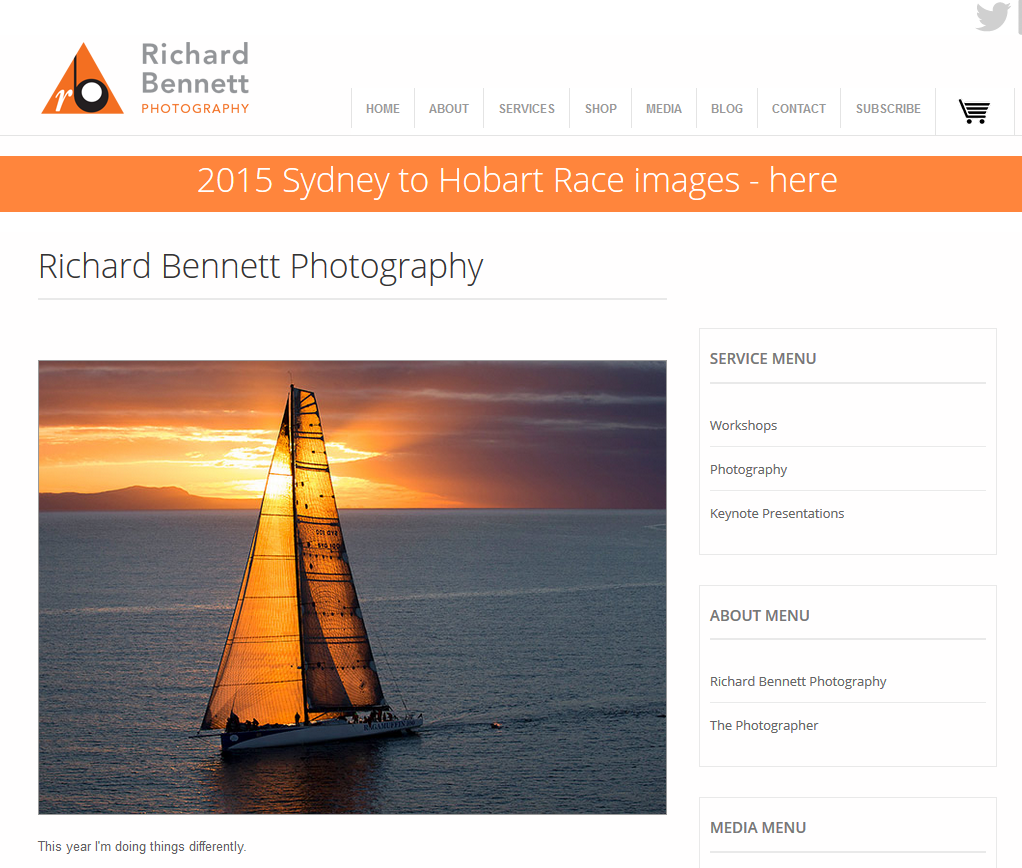 Richard Bennett Photography - Ready for the Race